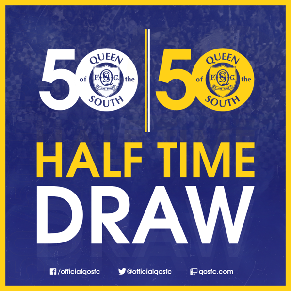 Picture of 50/50 Half Time Draw